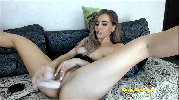 Amazing cute blonde camgirl from BongaCams cums...
