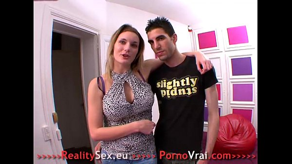 She loves getting her pussy touched by a stranger! French amateur