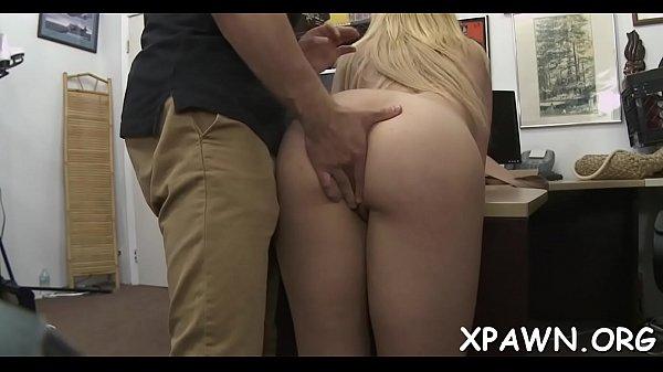 Sex in shop with big jock Thumb