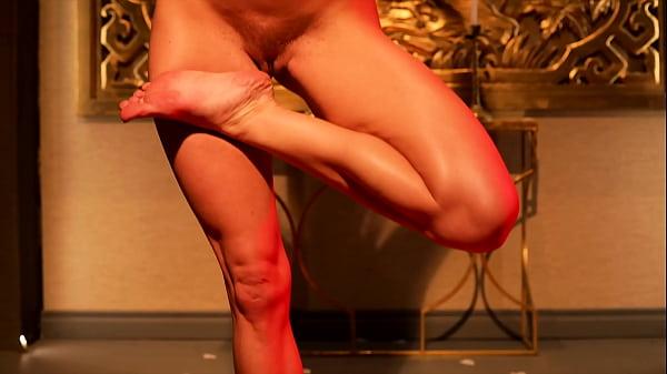Serene Siren Nude Yoga and Masturbation