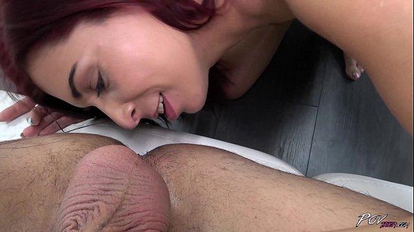 Horny Girl Next Door Licks Ass Before Getting P...