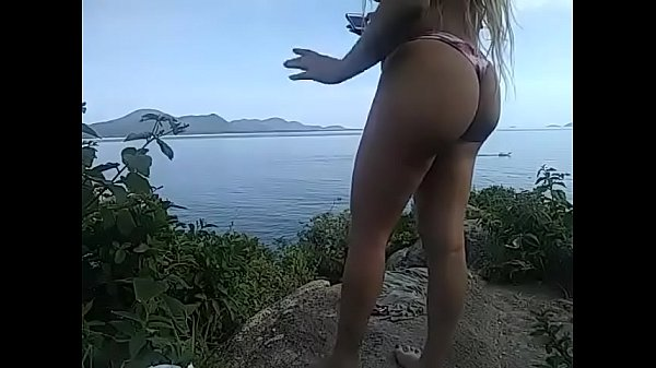 LiveCam on the mountain and the seashore in florianopolis island in brazil Thumb