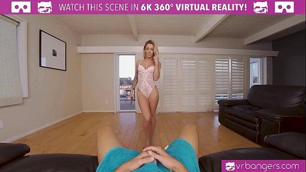 VRBangers Fucking My Hot Blonde Australian Roomate