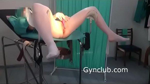 nurse masturbates on gynecological chair (10)