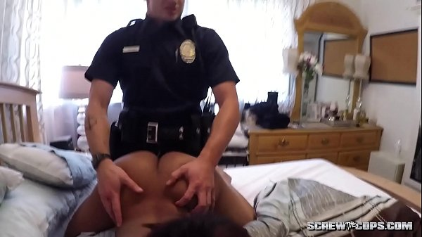 White Cops Fuck Ebony Teen Thumb