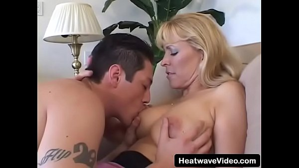 Older woman loves to seduce men that are a decade younger than her and introduce them to the world of sex