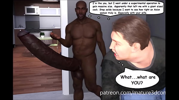 Cuckold 3D Comic & BBC Massive Cock Attack