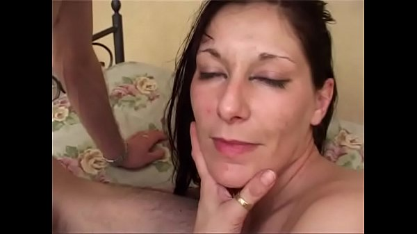 Old perverted slut banged in the ass