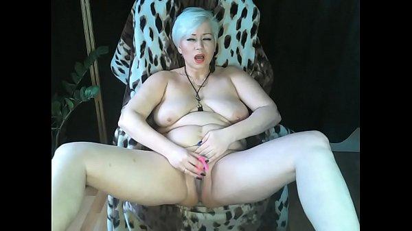 Mature Russian bitch. Private masturbation ...))