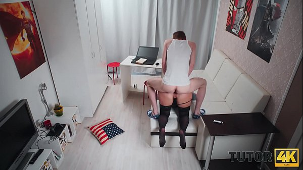 TUTOR4K. Mentor is banged by skinny man who pay...
