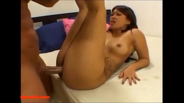 HD tight asian pussy breaks condom on big monster cock and gets messy cumshot