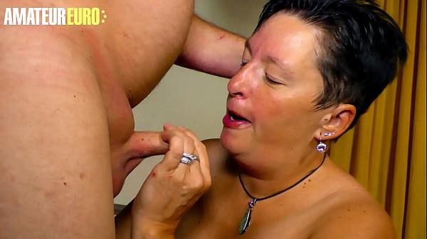 AMATEUR EURO - BBW German Wife Spend Her Night ...