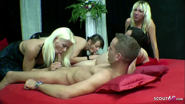 Amateur Group Sex with Teen and MILFs in German Brothel