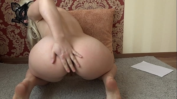 Very hairy pussy masturbates in front of a webc...