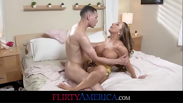 Busty Milf Calls A Plumber But Ends Up Taking Pipe