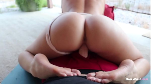 Frisky Teen Seduces Daddy with TIts and Feet - Molly Pills - POV FOOT FETISH Gorgeous College Amateur Strokes Cock with Toes 1080p
