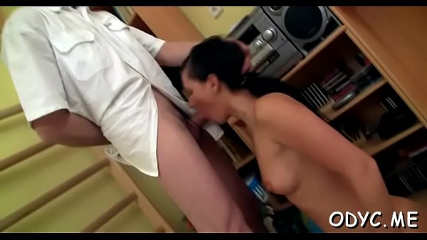 Sexy y. gets her hairy pussy fucked by an mature dude Thumb