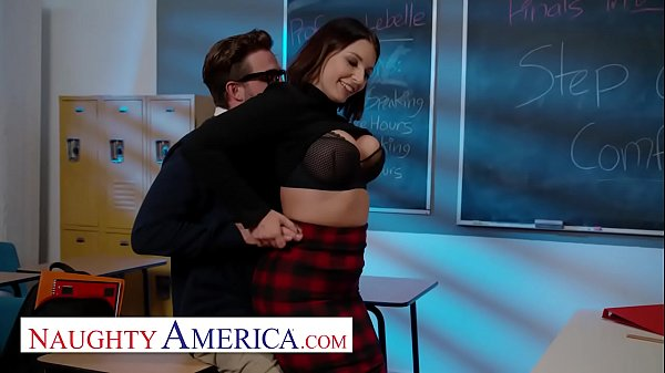 Naughty America - Ivy LeBelle fucks her A student