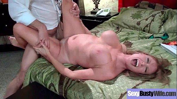 Big Melon Tits Housewife (Darla Crane) Enjoy Hard Sex On Camera clip-09