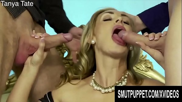 Smut Puppet - Busty Euro MILFs Giving Double Blowjobs Compilation