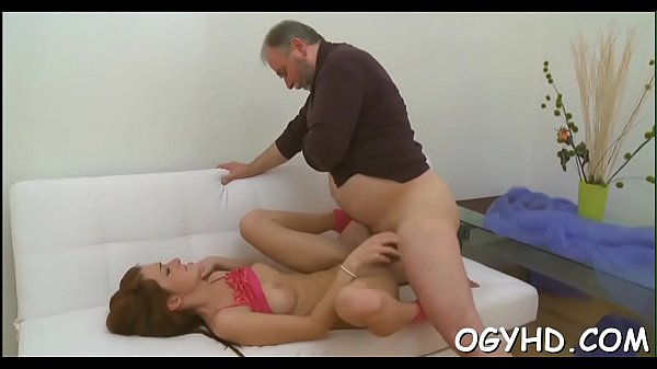 Young cum-hole filled by old pecker