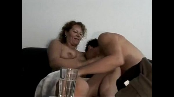 Marine - german oma makes love with young toyboy