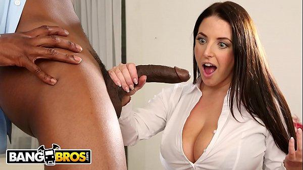 BANGBROS - Busty Angela White Takes Anal From I...