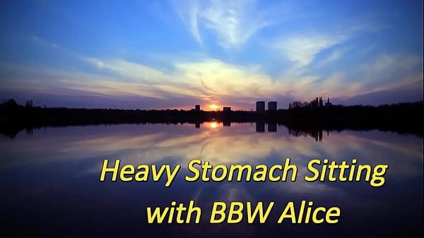 Heavy Stomach Sitting with BBW Alice (Stomach Demolition)