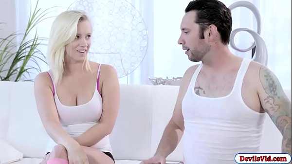 Bailey Brooke fucked by stepmums bf