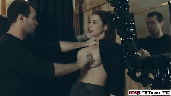 Busty Ivy getting fucked hard and rough Thumb