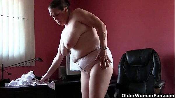 Church lady Andrea can't control her need for orgasm Thumb