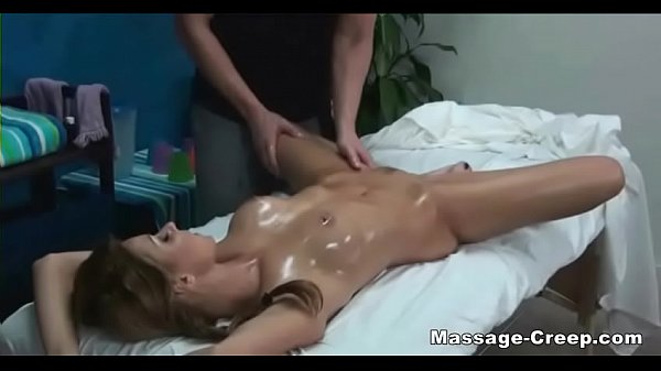 Teen blonde special massage