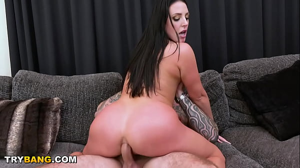 Busty MILF Angela White Boob Drop And Anal From Cyrus King