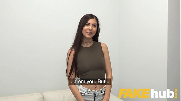 Fake Agent Deepthroating babe Anya Krey loves hard desk fuck during casting Thumb