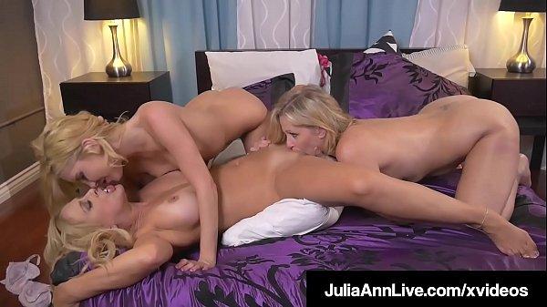What? Julia Ann Cherie Deville & Aaliyah Love, Pussy Fuck!