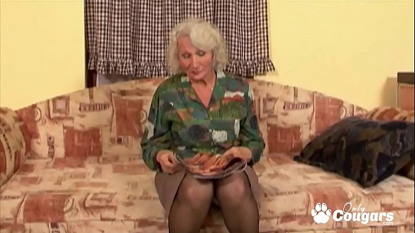 Granny Spreads Her Saggy Old Pussy For A Lucky Young Man  thumbnail