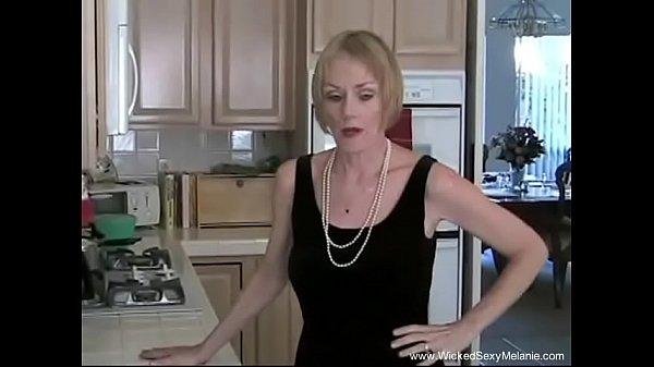 Amateur Granny Sucks Dick In Her Kitchen