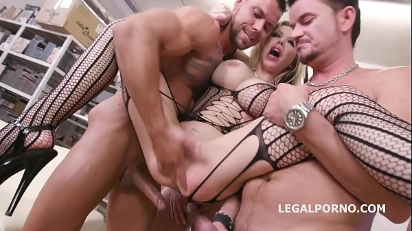 Caged, Barbie Sins used for sex with Balls Deep Anal, Squirt d., DAP, Buttrose, Creampie Cocktail GIO1265