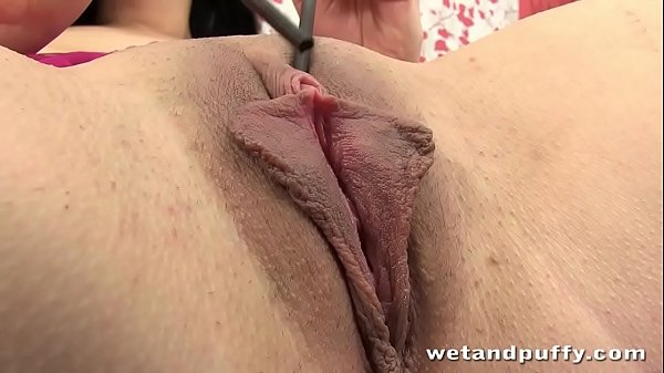 Big boobed Teen fists her tight pussy Thumb