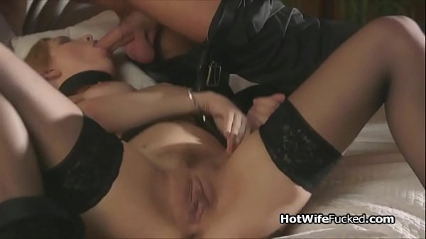 Curvy hotwife pleasing lovers hard cock