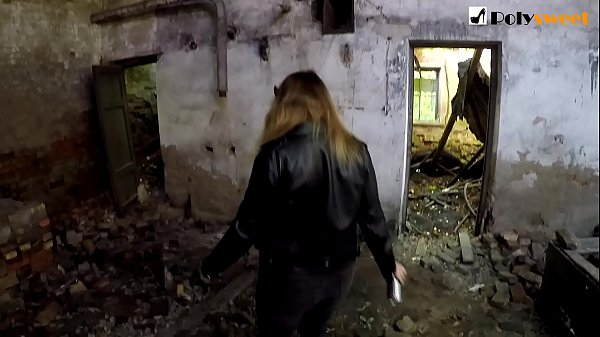 Public domination on an abandoned place with an...