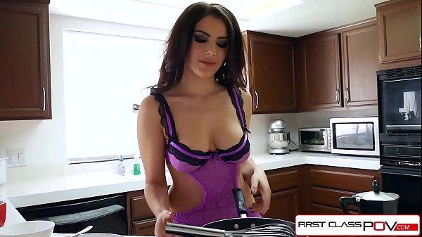 FirstClassPOV - Watch Valentina Nappi sucking a big dick, big boobs