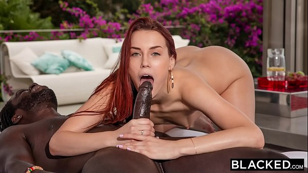 BLACKED Redhead needs a real man to satisfy her...
