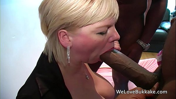 Huge black cocks in mouth ass and pussy