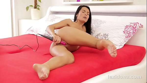 Lexi Dona - I love to tease my pussy with a vib...