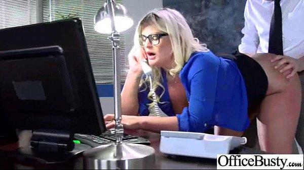 (julie cash) Office Horny Big Tits Girl Enjoy Hard Nail video-19