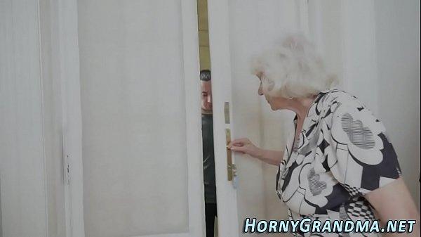 Fuzzy granny jizz mouthed Thumb