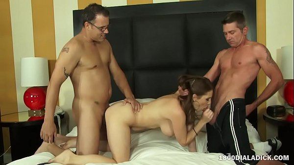 800DAD Big Tit MILF Allison Moore Cuckold Doubl...