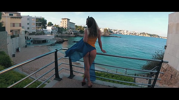 TRAVEL SHOW ASS DRIVER - Mallorca with Sasha Bikeyeva part 3. Ses Illetes  & Sant Agusti Thumb