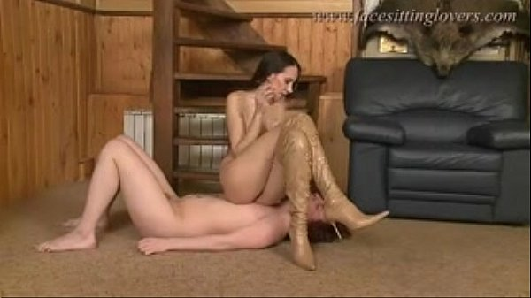 sexy queening tease in boots
